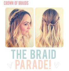 The Beauty Department 'Crown of Braids' Style is Summer Chic #hair trendhunter.com