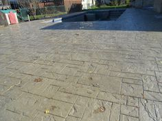 Concrete Color On Pinterest Stamped Concrete Stamped