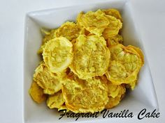 Coconut Curry Squash Chips from Fragrant Vanilla Cake