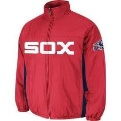 MEN'S CHICAGO WHITE SOX DOUBLE CLIMATE™ ON-FIELD JACKET - COOPERSTOWN