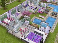 House 68 ground level #sims #simsfreeplay #simshousedesign