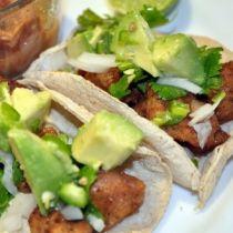 Receta de Tacos de Milanesas de Pollo