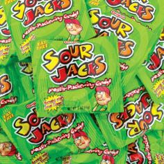 Assorted Sour Jacks 100ct - Party City