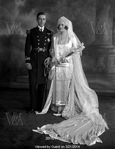 Lord and Lady Louis Mountbatten, photo Lafayette Portrait Studios. London, England, 1922