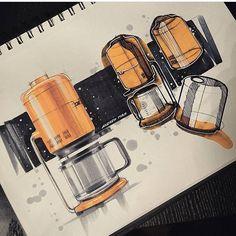 "1,385 Me gusta, 3 comentarios - Скетчинг Рисование Дизайн (@sketchzone) en Instagram: ""Скетч от @andrew_designs #ID #sketching #idsketching #product #productdesign #concept #sketch…"""