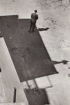 André Kertész, Looking Down on the World, New York, 1965