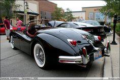 1956 Jaguar XK140 OTS
