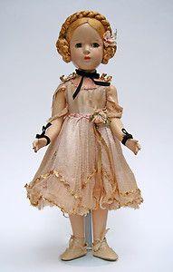 Vintage 1940'S Madame Alexander Composition Karen ...