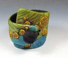 Bracelet Manchette #2 by Fimo  Maniguette, via Flickr