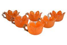 Lotus Teacups, S/6 on OneKingsLane.com