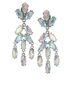Buy ASOS Snowdrop Earrings at ASOS. With free delivery and return options (Ts&Cs apply), online shopping has never been so easy. Get the latest trends with ASOS now. Prom Jewelry, Jewelery, Clip On Earrings, Drop Earrings, Crystal Earrings, New Years Outfit, Christmas Shopping, Statement Earrings, Bridal Dresses