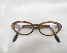5941311d2c Women s Eyeglass Frames - Vintage 1960s Tortoise Eyeglasses Eyeglasses  Frames For Women