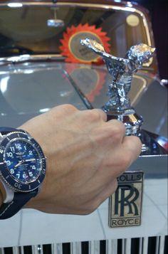Rolls-Royce Phantom IV & My Breitling SuperOcean II 44