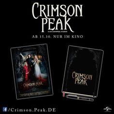 CRIMSON PEAK Gewinnspiel - Produkttests von uns für Euch!