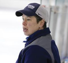 """""""It's an amazing group of athletes to be a part of. It's a great thing we're doing that we are providing these women with an opportunity to play the game."""" —Shawna Davidson, Head Coach, U. Women's Sled Hockey Program Sled Hockey, Athletes, Opportunity, Baseball Hats, Play, Group, Game, Amazing, Baseball Caps"""