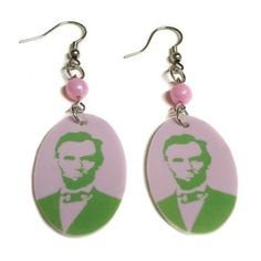 Abe the babe! I would so wear these. I want ones with my favorite activists.