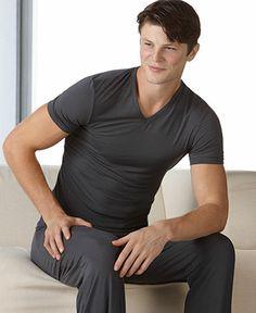 Calvin Klein Men's Loungewear, Micro Modal Pajama Pants U1143 - Pajamas - Men - Macy's