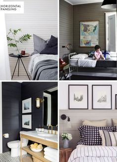 How To Add Character And Charm To Boring Architecture And Houses Horizontal Paneling