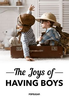 The Joys of Boys Being Boys