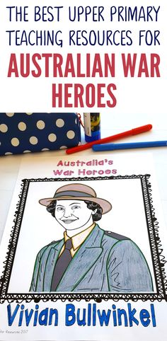 Introduce  your students to Vivian Bullwinkel who was an Australian Army Nurse in World War 2. She survived the prisoner of war camps and demonstrated incredible bravery, dedication and compassion. This activity pack is full of great teaching resources to complement your HASS lessons and help your students get to know Vivian and her amazing life as well as developing their understanding of the experiences of those who served in world war 2. Check it out in our store now.