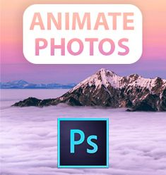 Learn how to animate a still image in Adobe Photoshop CC using frame animation and seamless looping. The effect is similar to what you can achieve with the Plotagraph software.  #photoshop #plotagraph #animation #still #image #tutorial #photoshoptutorials
