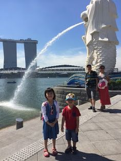 Blessed Little Travelers: Day Trip in Singapore (Singapore River, Fullerton Hotel, Merlion Park, Esplanade)