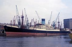 ELPENOR (2) built 1954 in Belfast. Sold in 1977 and renamed United Concord. Broken up Kaohsiung 21 May 1979. Acknowledgment Richard Parsons.