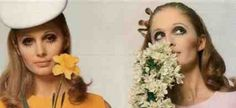 """1960s Fashion for Women  A Cultural Fashion History.  1960's make up, """"a mixture of Graveyard and Baby Doll"""".  Thank you Mary Quant and Twiggy."""