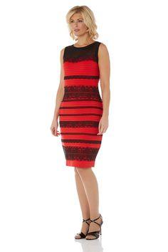 Lace Bodycon Dress - at Roman Originals Stylish Dresses, Formal Dresses, Roman Originals, Closed Doors, Occasion Dresses, Bodycon Dress, Lady, People, Gold
