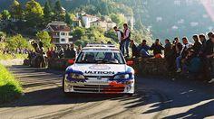 Rally Sanremo 1998 Delecour-Grataloup Peugeot 306 Maxi