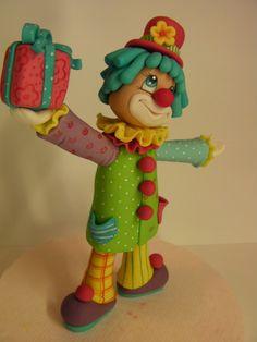 """Studio """"FONDANT DESIGN ANA"""" - Figurice za torte (fondant figures): CLOWN (KLOVN)"""