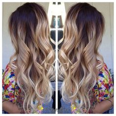 By the time my hair gets this long, ombre won't be cool anymore. But I'll dream...