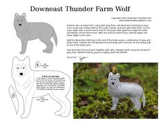 The Wolf is possibly my most requested pattern. It's also the pattern that I've struggled over more than any other. Wolves come in so many shades and markings – there's no o…