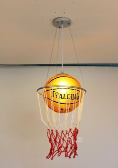 Basketball Lamp Base #pbteen | PB Dorm & PB Teen ~ Boys ...