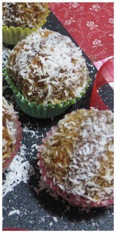 Amaretti farciti con nutella e cocco, da preparare in un attimo! #amaretti #nutella #cocco #pasticcini #ricettgustose