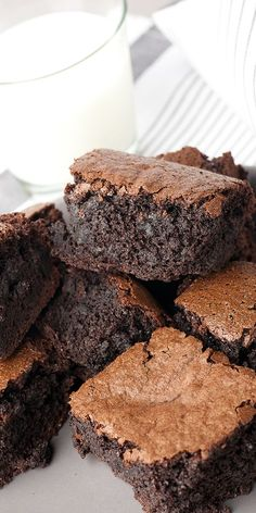 Mmm, our mouth is watering over these brownies made with Olive Oils from Spain.