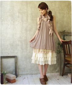Cute and loose shift dress