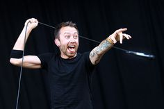 Tim McIlrath, Rise Against. I love these guys, some of the best lyricists I've ever listened to.
