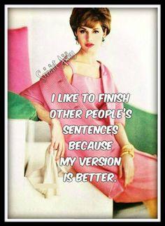 My version... #sassy #retrohumor