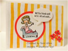 Just Kidding, Stampin' Up!