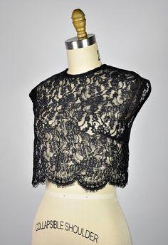 vintage lace top.