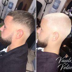"""80 Me gusta, 2 comentarios - ✂️ 💈 Bruna Mendes (@carriocas) en Instagram: """"WHITE HAIR / HAIR CUT ❄️✂️💈 #byme #whitehair #whitehairdontcare #ladybarber #haircut #fade…"""""""