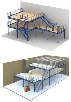 Warehouse Living, Warehouse Design, Garage Loft, Garage House, Factory Architecture, Steel Structure Buildings, Warehouse Shelving, Home Stairs Design, Factory Design