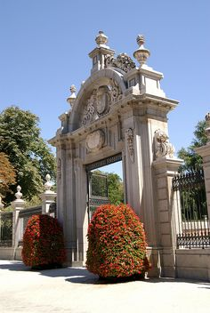 Puerta de Felipe IV #El Retiro #Madrid