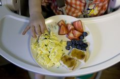 Healthy toddler meal ideas with lots of variety. I'm going to need this sooner than I know it!