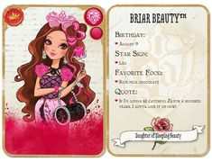 Briar Beauty card