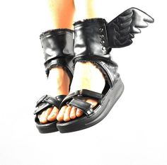 Womens Roma Sport Sandal Angel Wing Platform Wide New Gladiator Boot Plus Size 9 #Fashion #Gladiator  $47.99 also in wide