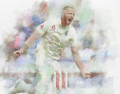 Ben Stokes- Ashes 2019 by realdealluk on DeviantArt Icc Cricket, Cricket Sport, Jack Leach, Ashes Cricket, England Cricket Team, Stuart Broad, Engineers Day, Ben Stokes, Cricket
