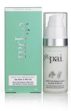 Sea Aster & Wild Oat Instant Calm Redness Serum [PAI-063] : Pai Skincare, Organic Skin Care for Sensitive Skin