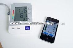 awesome iPhone 사용 무선 블루투스 디지털 방식으로 상완 혈압 감시자